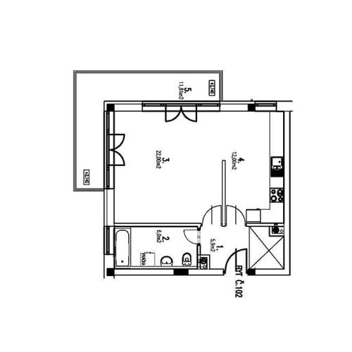 1(+1) izbové byty