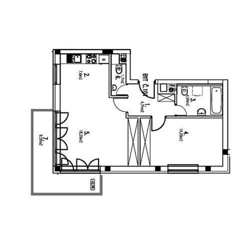 Dvojizbové byty