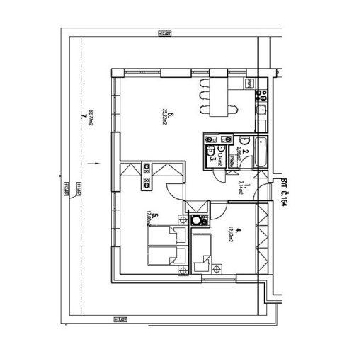Trojizbové byty